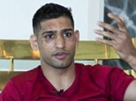 Amir Khan: I want to rebuild the Pakistani school that was devastated by the Taliban