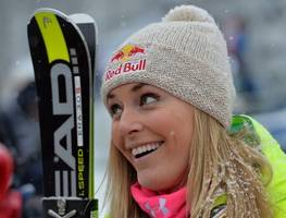 lindsey vonn claims 61st world cup win in val d'isere
